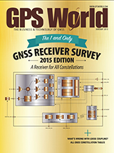 شماره جدید مجله GPSWorld برای ماه ژانویه منتشر شد
